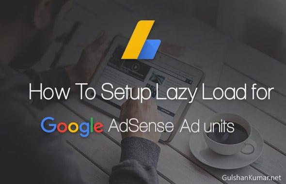 Cách thiết lập Tải nhanh cho Google AdSense