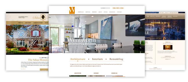 Dịch vụ thiết kế trang web cho nhà thầu và trang web cho các doanh nghiệp nhỏ
