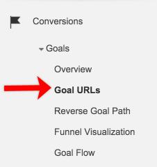 Google Analytics - URL mục tiêu