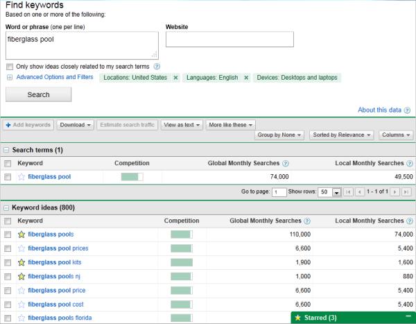 ảnh chụp màn hình công cụ từ khóa google adwords thay đổi kích thước 600