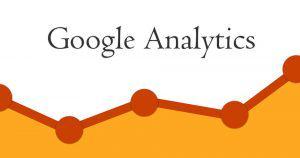 logo Google Analytics với biểu đồ