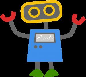 googlebot google phim hoạt hình robot màu